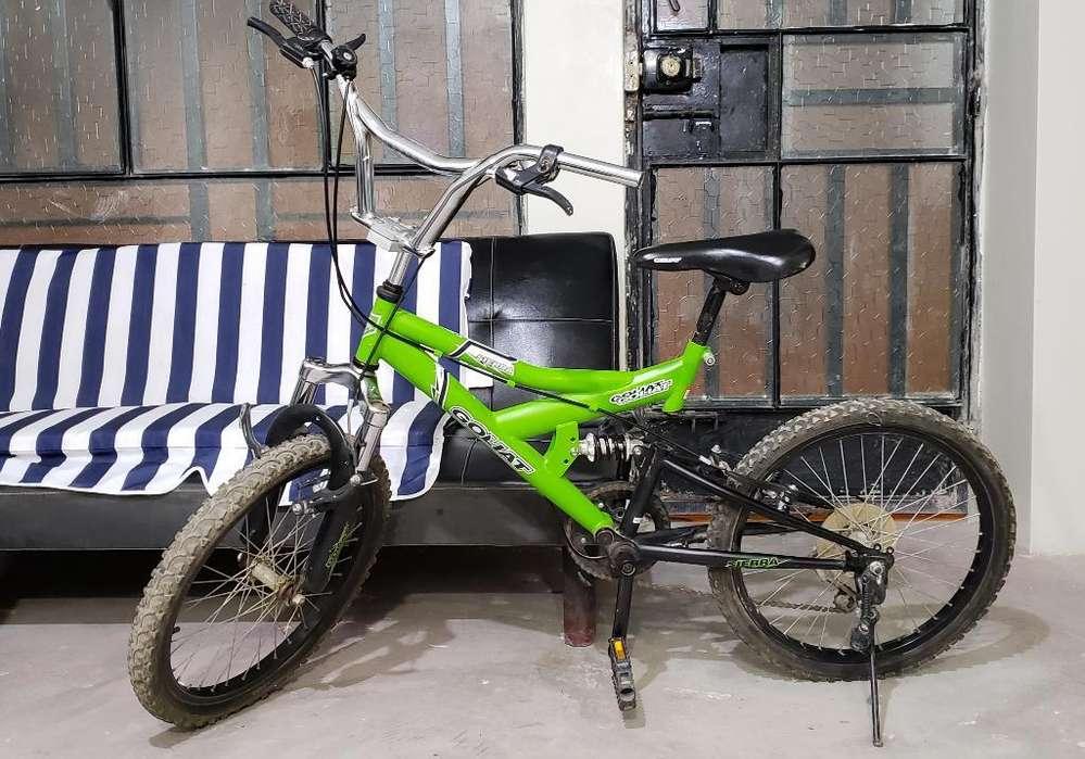 Bicicleta Goliat Sierra Aro 20