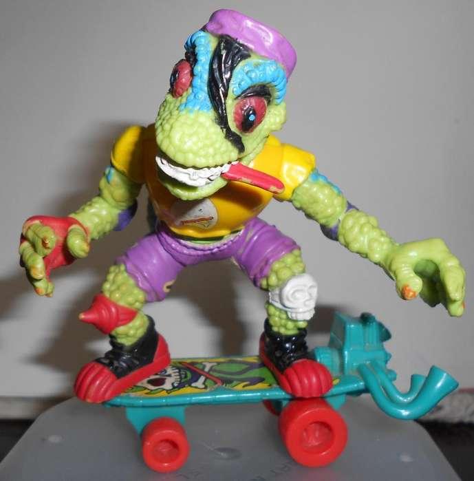 Tortuga Ninja Mondo Gecko Coleccionable Vintage 1988