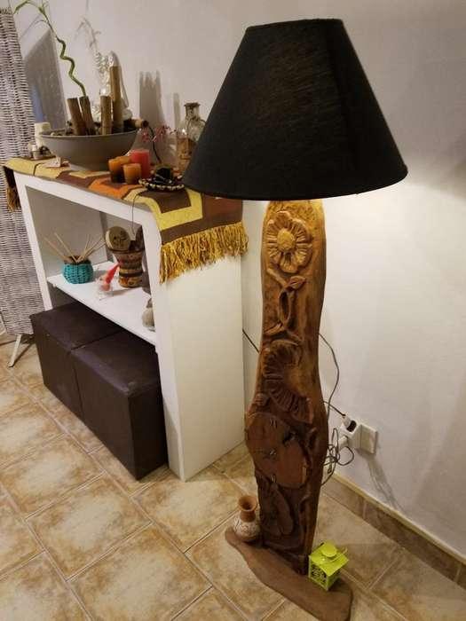 Lámpara de Pie Madera 2235473531