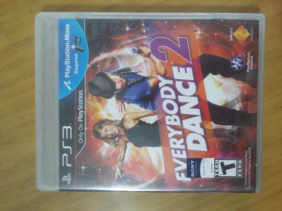 Vendo Everybody Dance 2 Ps3