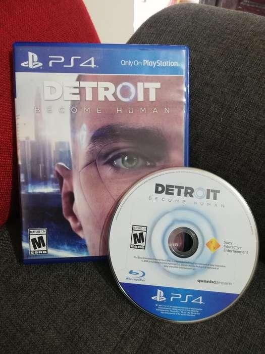 Vendo Detroit Ps4