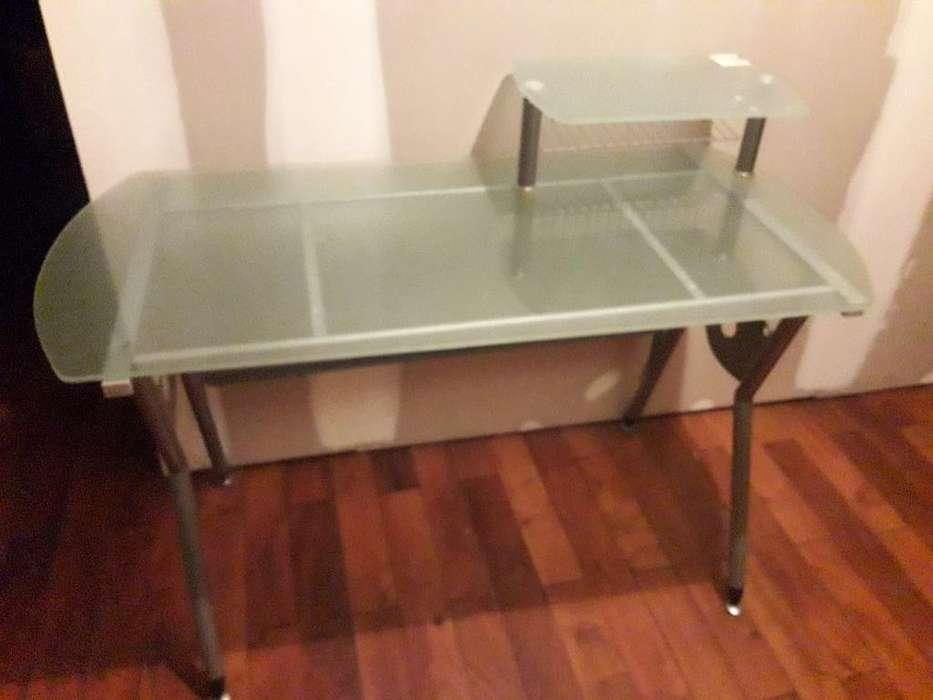 <strong>escritorio</strong> de Vidrio Esmerilado