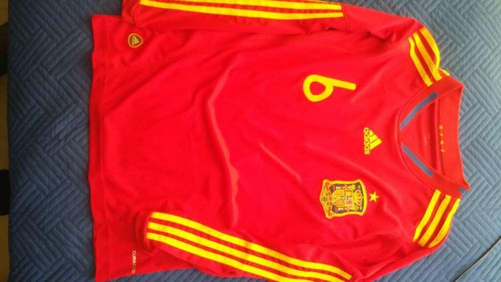 Camiseta España 2010 Adidas Talla S