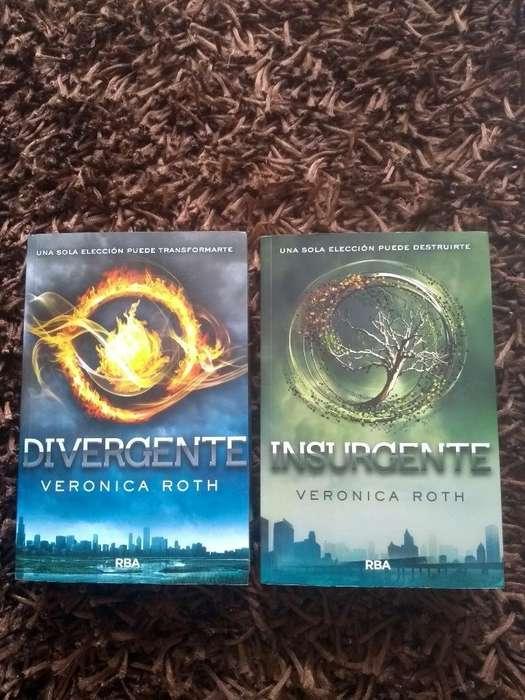 Libros Divergente E Insurgente