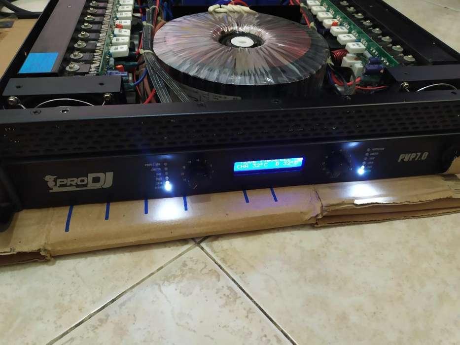 Amplificador Pro Dj 7.0 Como Nuevo
