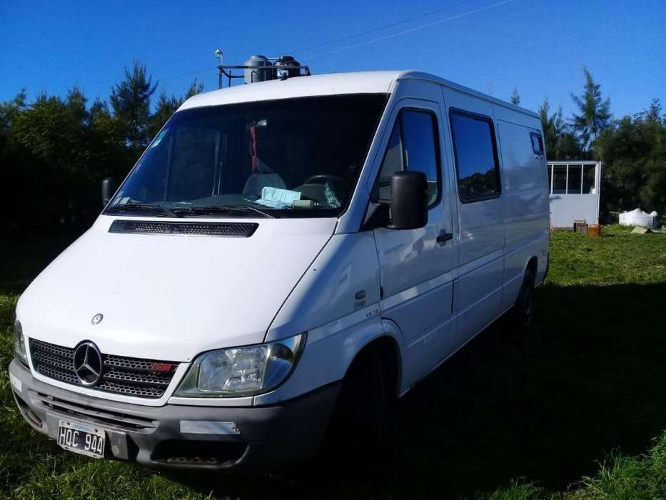 Sprinter 313 CDI 2008 250.000km. Todos los services oficiales!