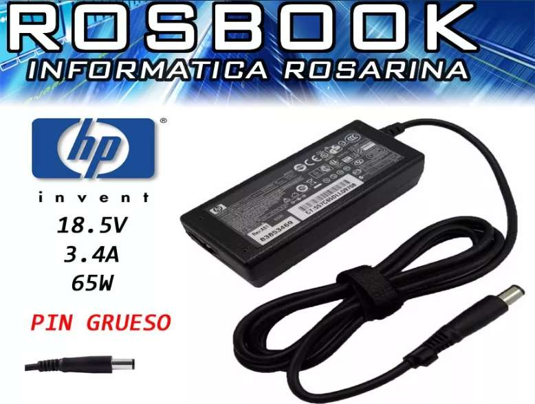 Cargador para notebook y netbook HP DELL EUROCASE NOBLEX ACER TOSHIBA BGH Exo CX BANGHO MAC