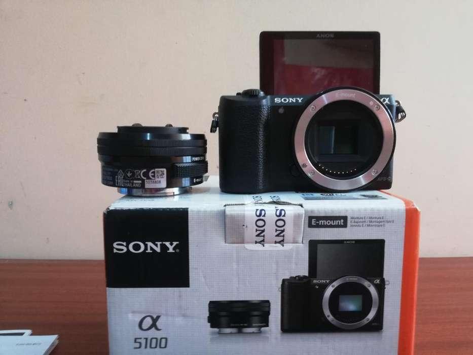 Cámara Mirroles Sony A5100 Como Nuevo