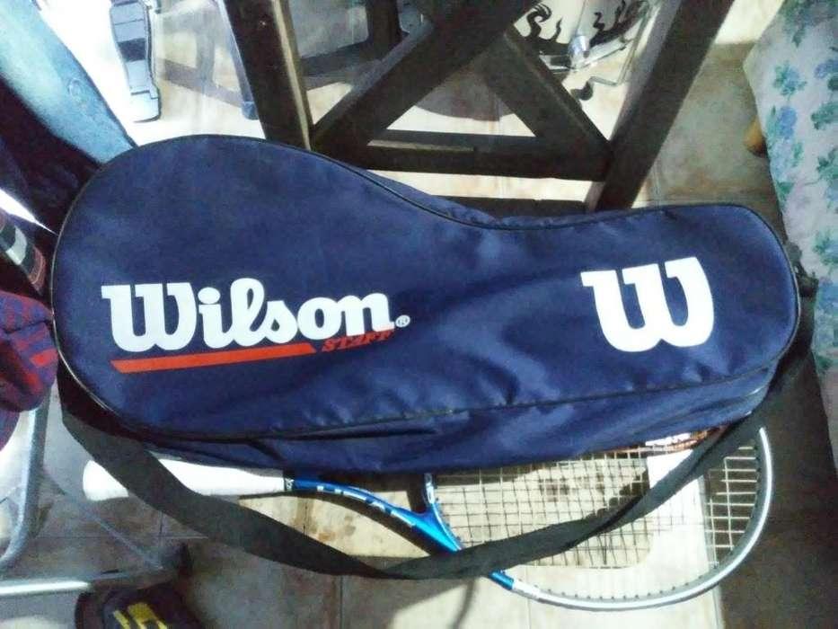 Bolso simple para raquetas Wilson