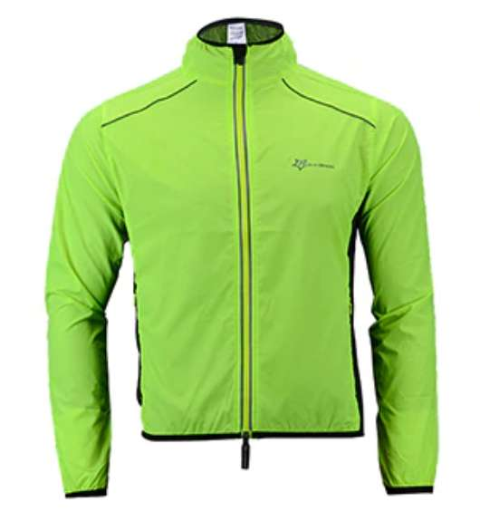 Chaqueta Ciclismo rompevientos Transpirable, Impermeable.