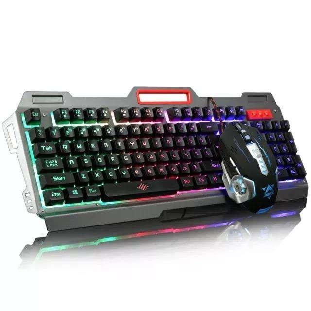 Teclado Mouse Gamer Retroiluminado Usb K33