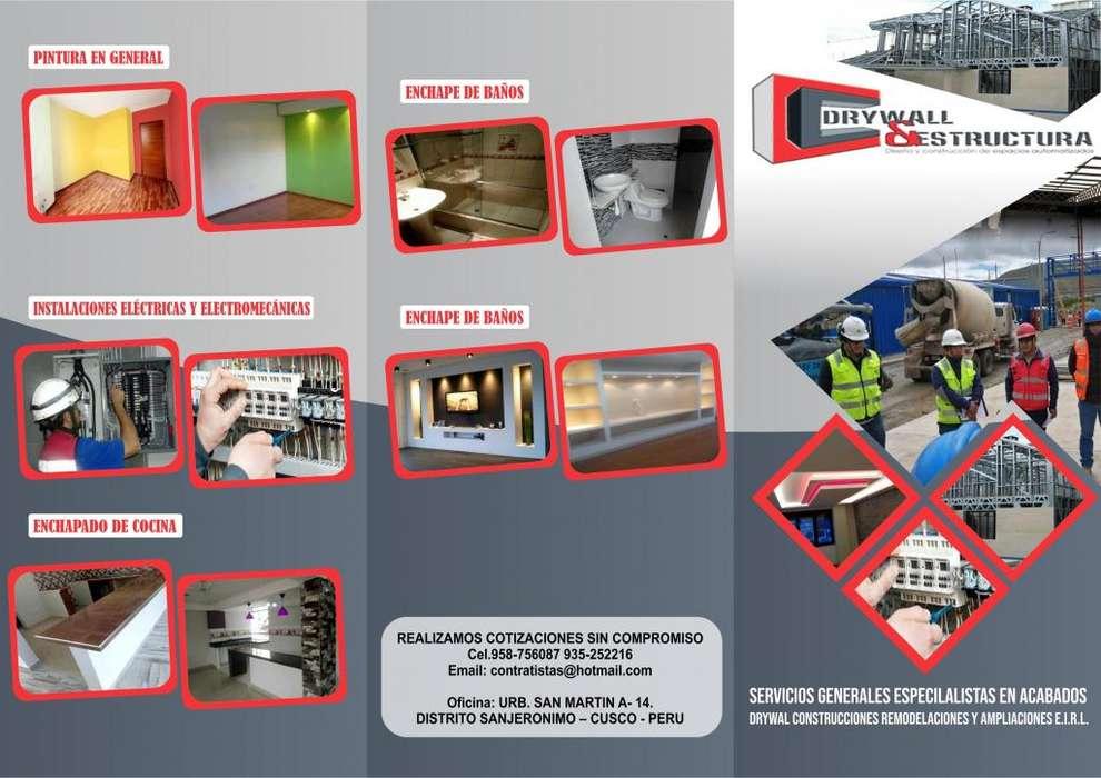 DRYWALL REMODELACIONES AMPLIACIONES. 958756087