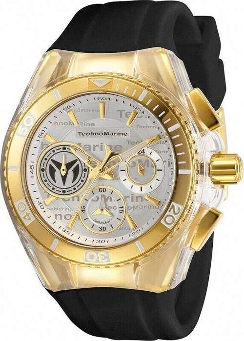 Reloj Mujer Technomarine Cruise Dorado Dial Blanco 118136
