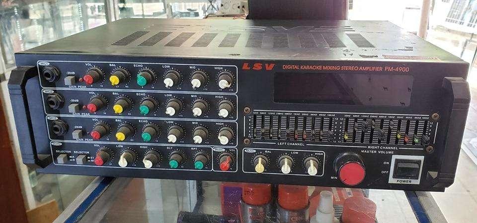 amplificador LSV con ecualizador (4 transistores)