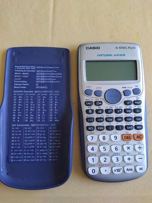 <strong>calculadora</strong> Casio Fx-570es Plus