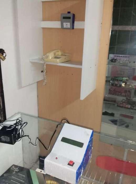 CABINA TELEFÓNICA (CONSOLA para 1 linea) Sistema completo