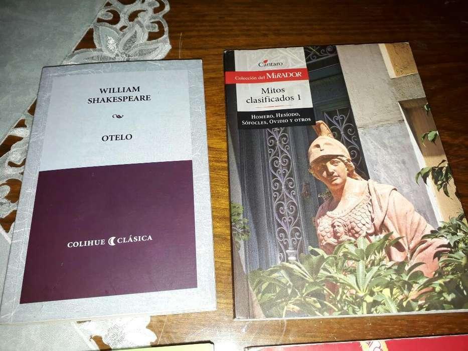 Vendo Libros de Literatura Nuevos