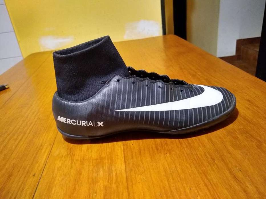 Botines Nike Talle 38.5 Futbol 5