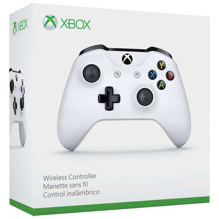 Control Xbox One S Blanco Nuevo Original Envio Gratis