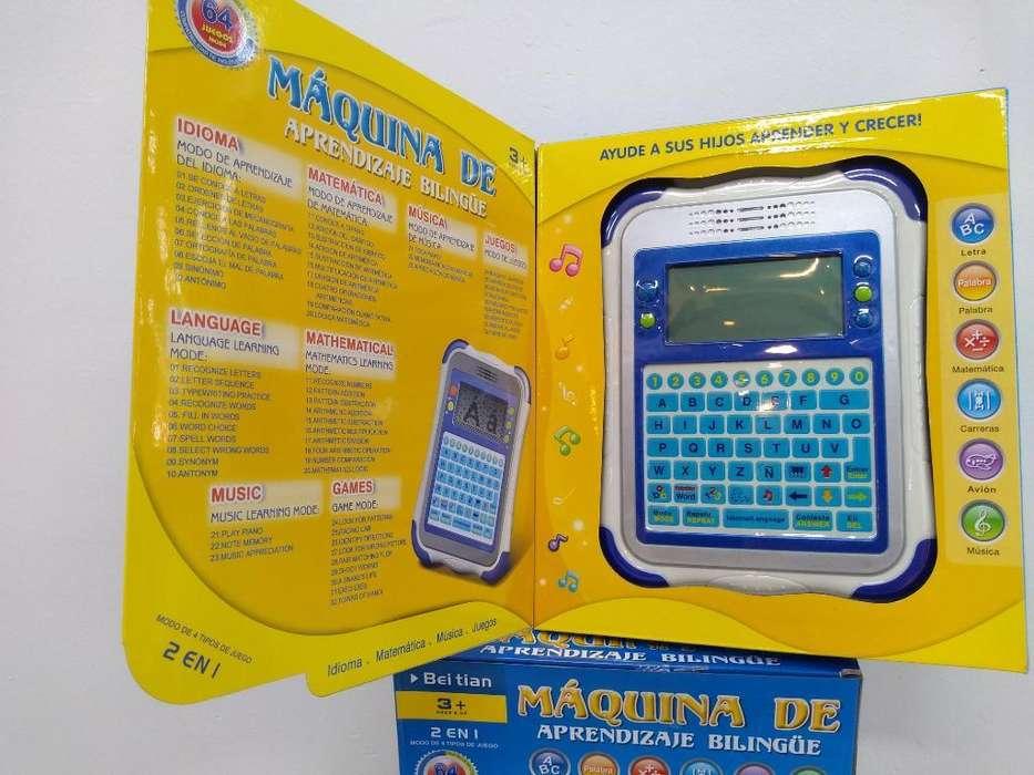 Tablet Didáctica para Niños Y Niñas