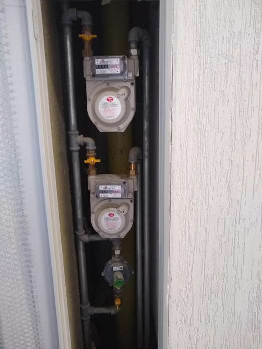 Instalacion Periodica de Gas Natural
