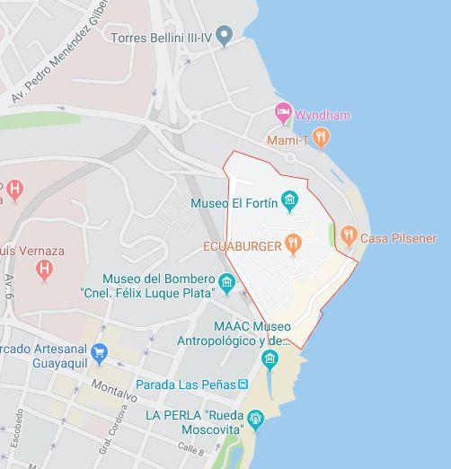 Las Peñas, 302m², Comercial, Terreno en Venta, Centro, Malecon, Puerto Santa Ana