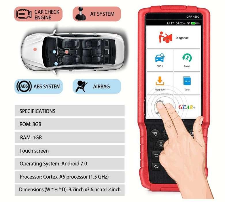 Escaner Automotriz Launch CRP429C Wifi X431 Scanner Profesional