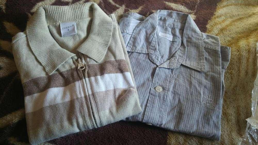 Cardigan Y Camisa T 4 Cheeky