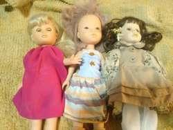 Muñecas de plastico