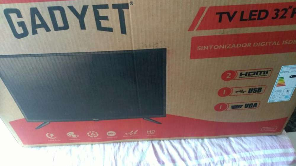 Tv Gadyet 32 Totalmente Nuevo