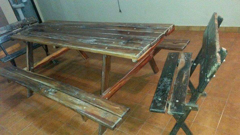 mesa quincho algarrobo rustico