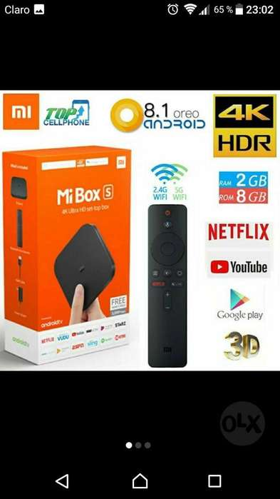 Tv Box Xiaomi 4k