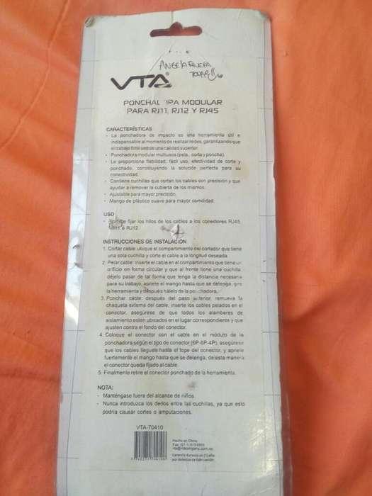 Vendo Ponchadora Rj45