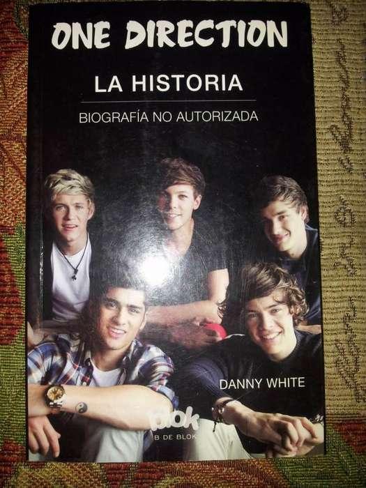 One Direction la Historia, Danny White, Usado en buen estado.