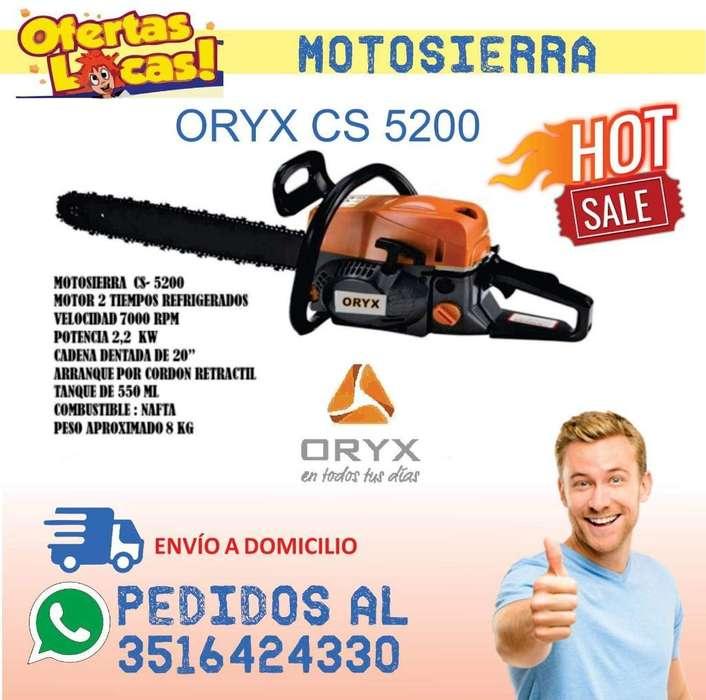 Motosierra Orix 52cc Oferton