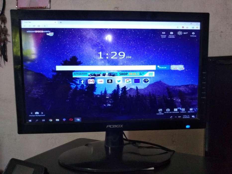Vendo monitor de <strong>pc</strong> led de 19 pulgadas funcionando bien