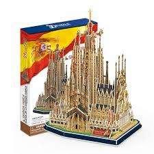 Rompecabezas 3d Cubicfun Sagrada Familia