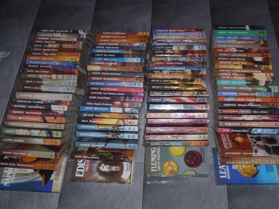 Colección Biblioteca Salvat de Grandes Biografias