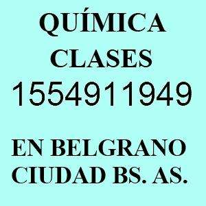 Apoyo Química CBC UBA XXI etc Belgrano Nuñez Saavedra