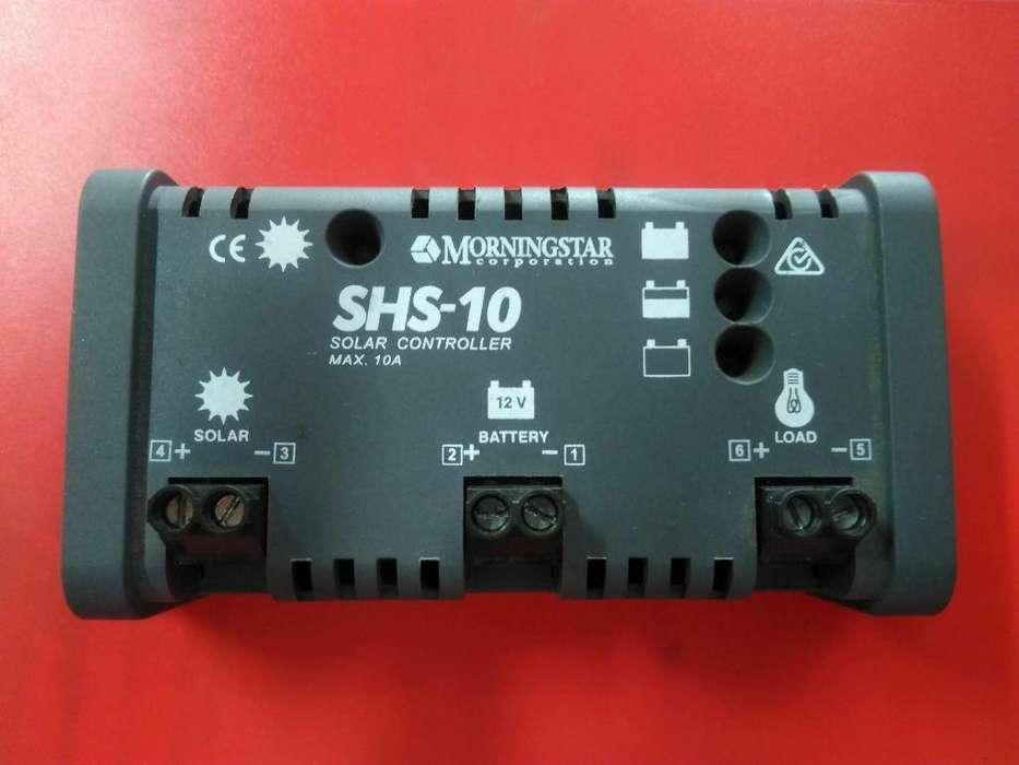 Controlador de carga 10 AMPERIOS 12 VDC