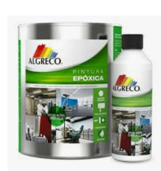Pintura Epoxica Color Blanco 2 Galones