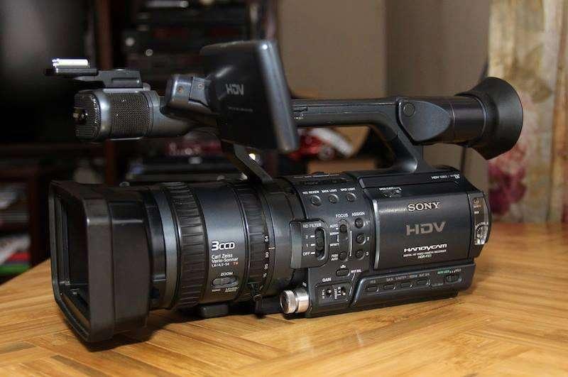 Filmadora Sony Fx1 Hdv