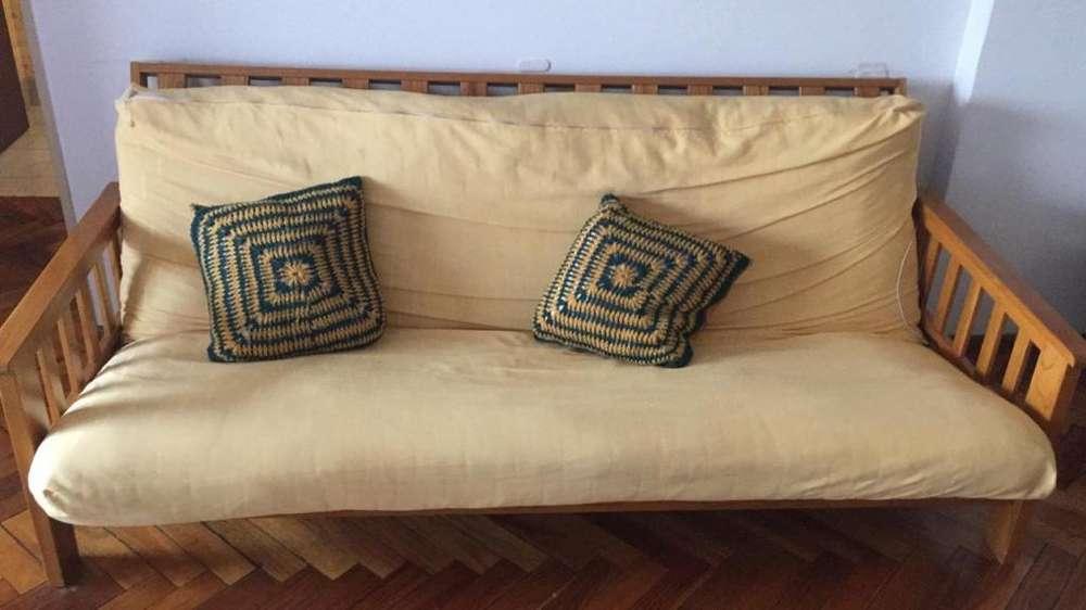 Futon <strong>cama</strong> Sillon - Colchon con cobertor