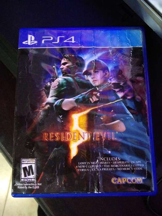Juego Playstation 4 Resident Evil 5