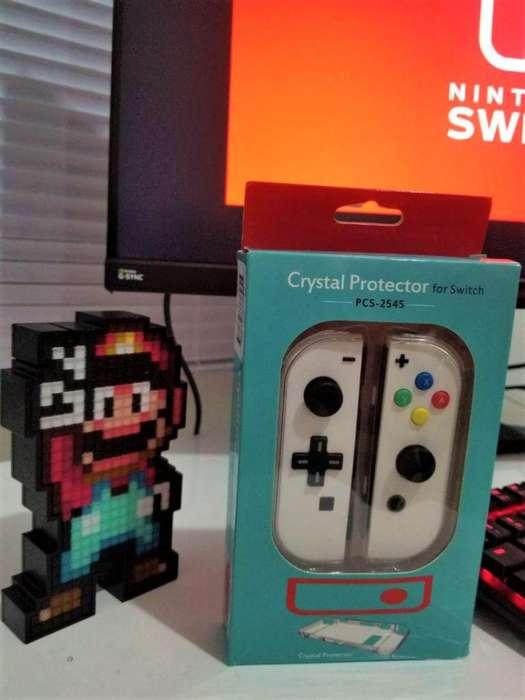 Nintendo Switch Joycons Mod Blancos Oferta