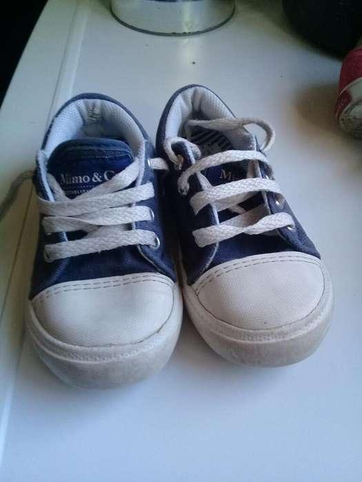 Zapatillas Mimo Talle 26 Color Azul