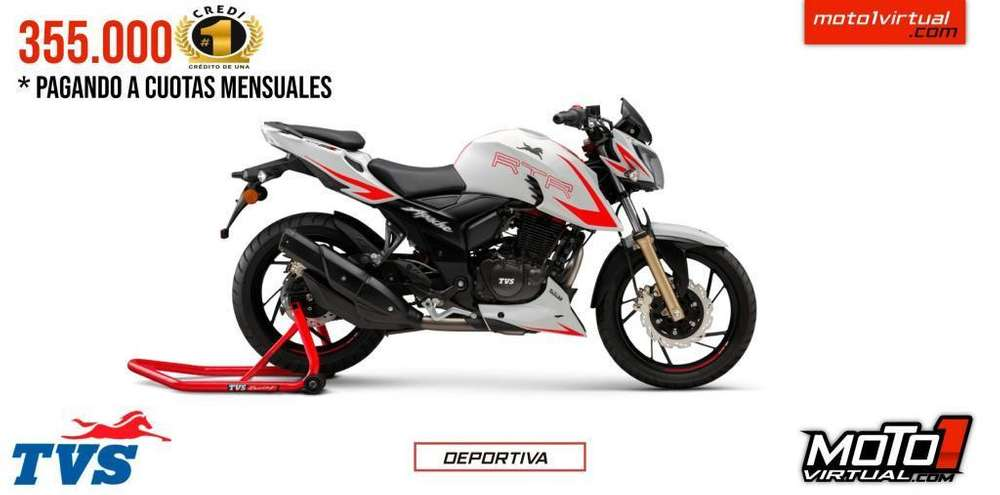 TVS APACHE RTR 200 RACE EDITION. <strong>nueva</strong> ES <strong>nueva</strong>!!! CREDITO FACIL!