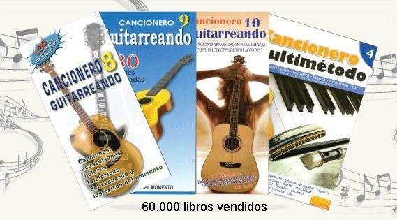 CANCIONEROS PARA GUITARRA, PIANO, FLAUTA Etc. PROMOCIÓN EN SUPERMAXIS Aki