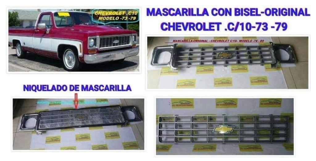 Mascarilla Chevrolet C10