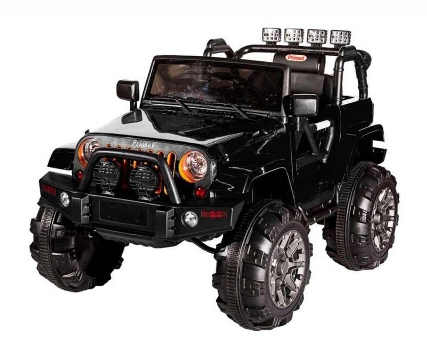 Carro Eléctrico para niños Jeep Renegado Negro